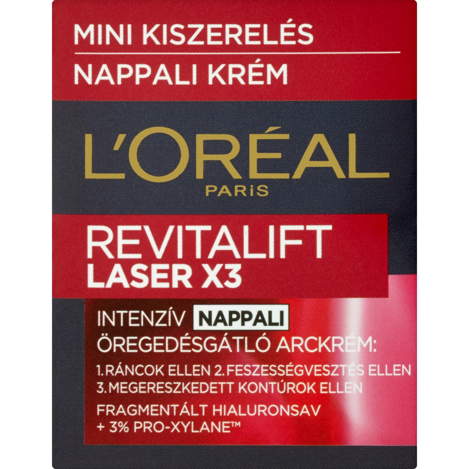 L'Oréal Paris Revitalift Laser X3 intenzív öregedésgátló..