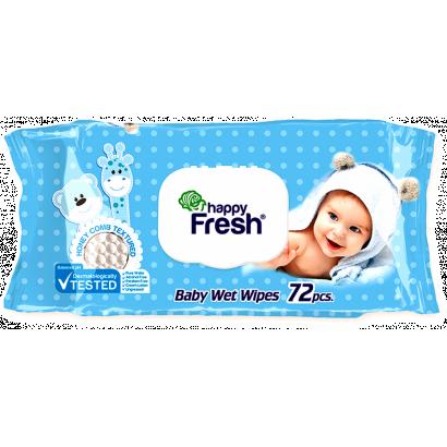 Happy fresh nedves törlőkendő 72 db