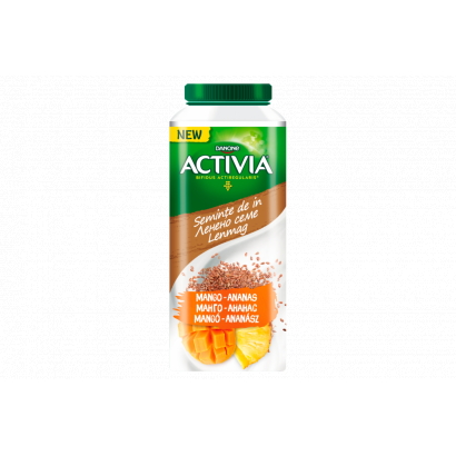 Danone Activia zsírszegény, élőflórás, erdeigyümölcsízű joghurtital gabonával 320 g