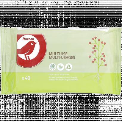 Auchan Nívó eco tisztítókendő általános  használatra 40 dbNívóos