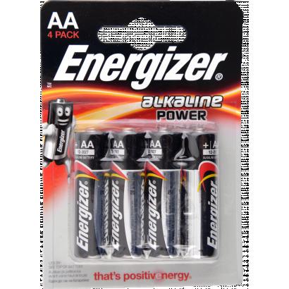 Energizer Power Alkáli elem AA LR6, 4db