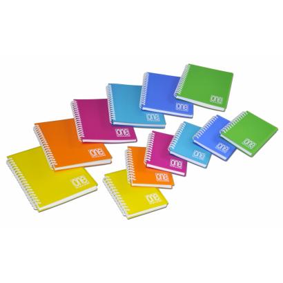 BLASETTI One Color spirálfüzet A5 80 lap vonalas (több színben)