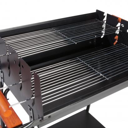 GARDENSTAR Hobby Faszenes grillsütő, 129x56x90 cm