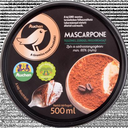 Auchan mascarpone sajt 500 ml
