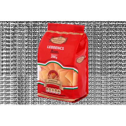 Izsáki Házitészta Juhászné száraztésztája lebbencs 8 tojásos száraztészta 200 g