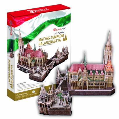 3D puzzle Mátyás-templom
