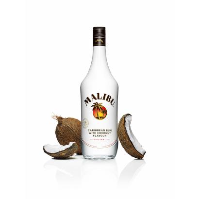 MALIBU WHITE RUM WITH COCONUT 0,5L