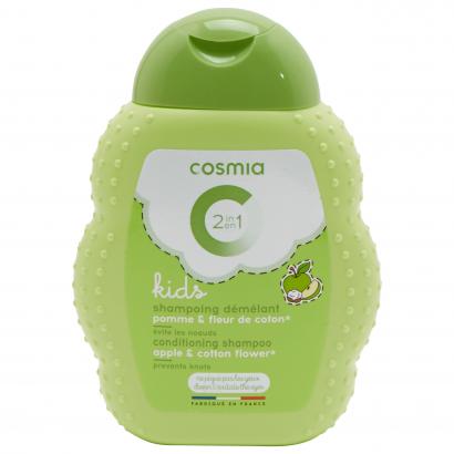 Cosmia kids kifésülést könnyítő sampon 2 az 1Nívóben alma&gyapotvirág 250 ml