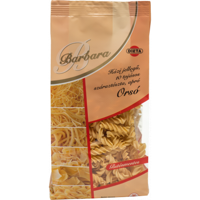 Barbara Homemade-type Gluten-free 10-eggs small noodles Spindle