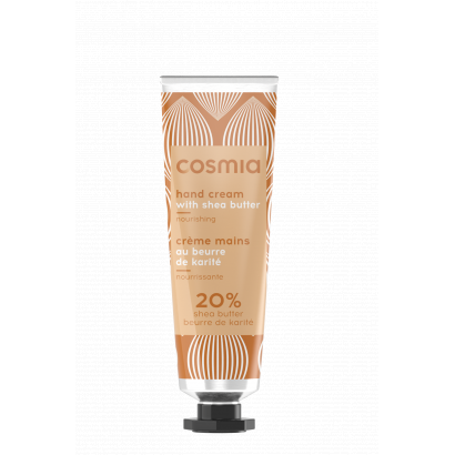 COSMIA HAND CREAM ORIGINAL SHEA BUTTER 30 ml LAMINATED TUBE