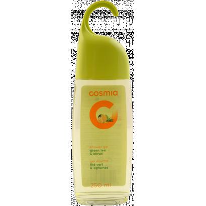 COSMIA  SHOWER GEL HUNGABLE GREEN TEA AND CITRUS  250 ML