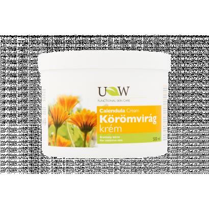 UW körömvirág krém érzékeny bőrre 500 ml