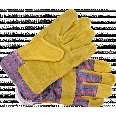 Munkavédelmi kesztyű, sárga