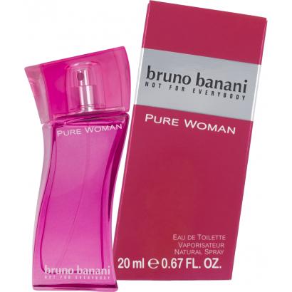 Bruno Banani Pure Woman Eau de Toilette 20 ml
