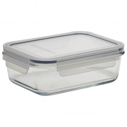 ACT BORO GLASS FOOD BOX RECTANGULAR 0.9L-NO VENT