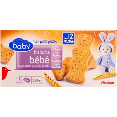 Auchan baby keksz 12 hónap 150 g