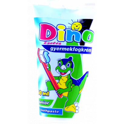 Dino toothpaste for children