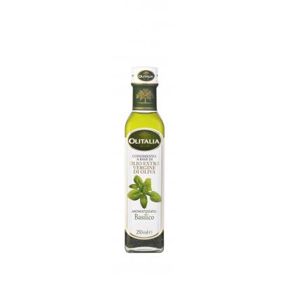 Olitalia bazsalikomos extra szűz olívaolaj 250 ml