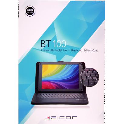 Alcor tablet tok, bt100, billentyűzettel