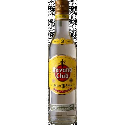 HAVANA CLUB 3 YEARS OLD RUM 0,5L