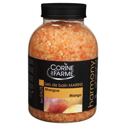 Corine de Farme Sea Salts with Mango Scent 1,3 kg