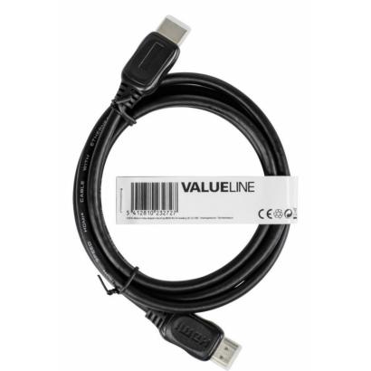 Valueline nagy sebességű hdmi kábel internettel, 1m, cable-557-1.0