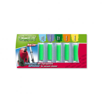 Airfreshener for Vacuum cleaner, flower fragrance, 5 sticks blister