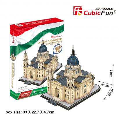 3D puzzle Szent István bazilika