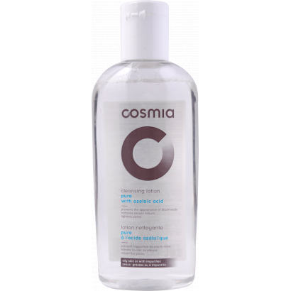 COSMIA ANTIBACTERIAL CLEANSING TONER - ANTI BLACK DOTS /  acne skin / 200ML