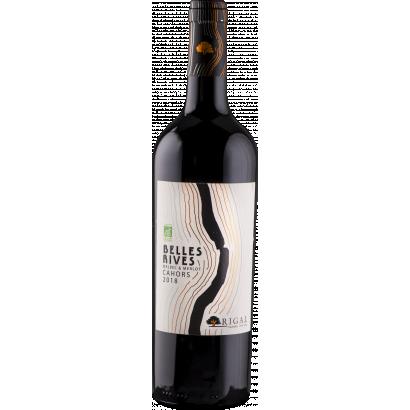 Belles Rives Cahors Bio red wine