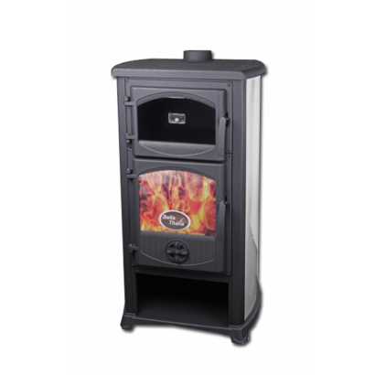THALIA CUCINA FREE STANDING FIREPLACE WITH OVEN