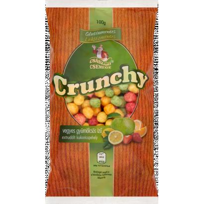 Császári Csemege Crunchy  Gluten- and Lactose-Free Mixed Fruit Flavoured Extruded Corn Flakes 100 g