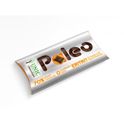 Unic paleo étcsokoládés 70 % eritrittel 80 g