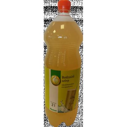 Elderflower flavoured syrup with sweeteners, energy-free