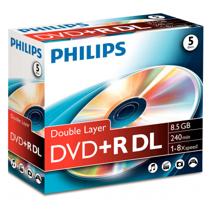 Philips DVD+R Dual layer