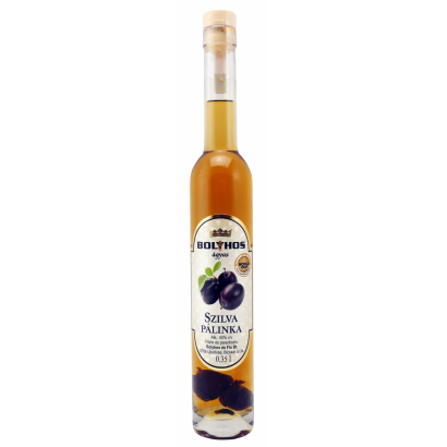 BOLYHOS PLUM BRANDY AGED ON FRUIT- BED 0,35 L
