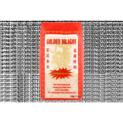 "Golden Dragon ""A"" Quality Thai Jasmine Rice 1 kg"