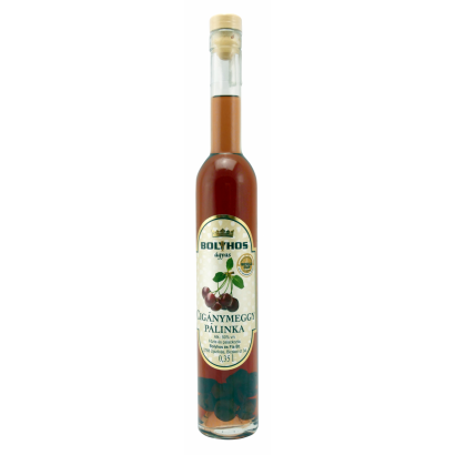 BOLYHOS SOUR CHERRY BRANDY AGED ON FRUIT-BED 0,35 l