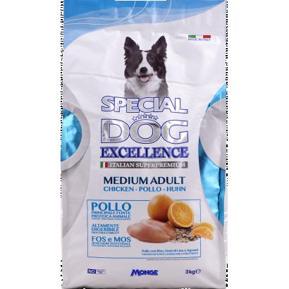 SPECIAL DOG EXCELLENCE MEDIUM ADULT 3kg 26/16  szuperprémium kutyatáp