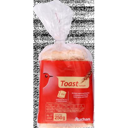 Auchan toast bread 250g