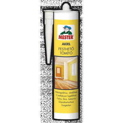 Mester Akril tömítő, szürke, 310 ml