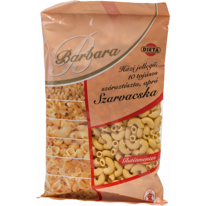 Barbara Homemade-type Gluten-free 10-eggs small noodles Hornlets