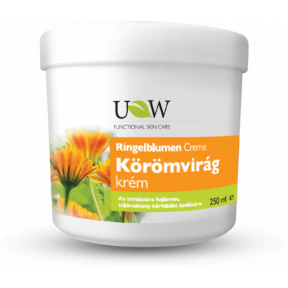 UW körömvirág krém érzékeny bőrre 250 ml