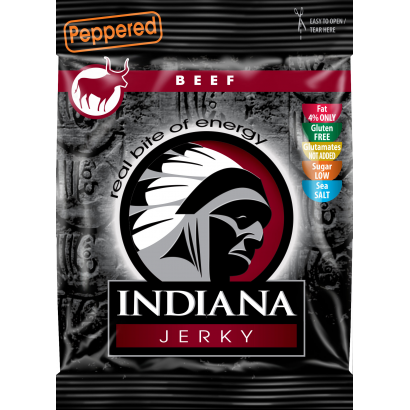 Indiana Jerky Beef peppered 25 g