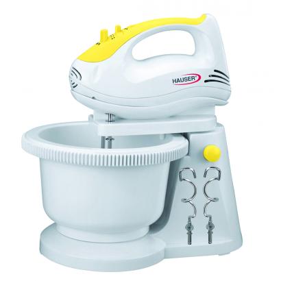 Hauser SM-920Y fehér/sárga tálas mixer