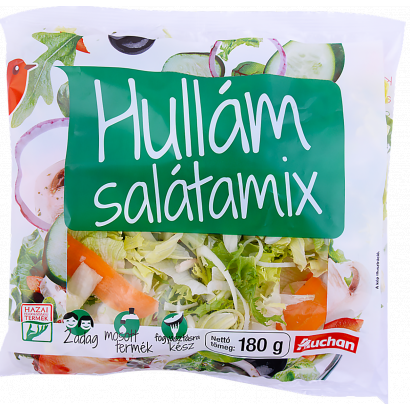 Auchan Hullám salátamix 180g
