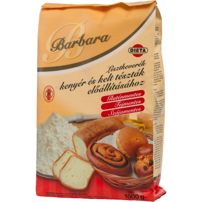 Barbara Flour blend for the production of gluten-free bread and leavened dough