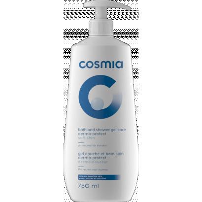 COSMIA BATH AND SHOWER GEL DERMO SOFTNESS DRY AND SENSITIVE SKIN 750ML