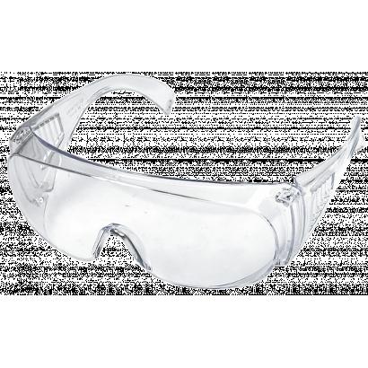Védőszemüveg, színtelen, 100% polikarbonát