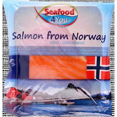 Limito chill smoked Norwegian salmon slices 100 g